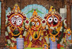 Lord krishna , subhadra and balrama