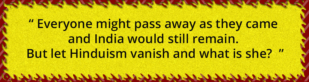 save hinduism