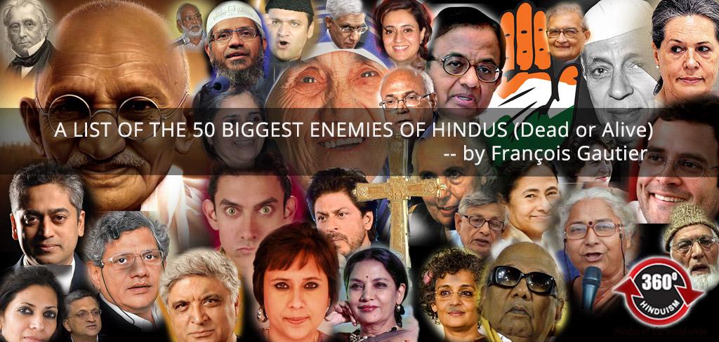 50 biggest enemies of hindus