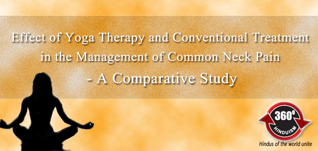 Effect of Yoga Therapy and Conventional Treatment in the Management